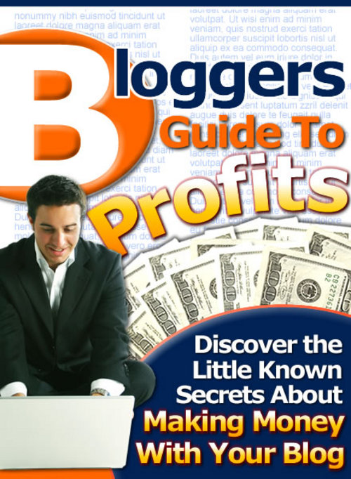 Product picture Bloggers Guide To Profits